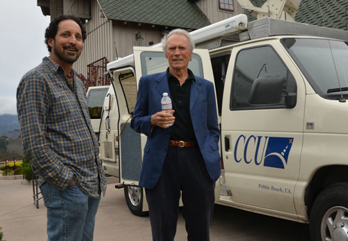 Randy Thieben with Clint Eastwood