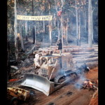 protest, logging, earth first, photography, randy thieben